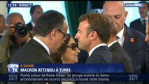 Emmanuel Macron est arrivé en Tunisie pour les funérailles du président Béji Caïd Essebsi