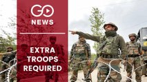 Extra Troops To Be Deployed In J&K