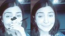 Anushka Sharma CRYING due Mumbai rain; Watch Video   FilmiBeat