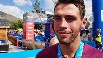 Baptiste Neveu (L'Alpe d'Huez), 6e du triathlon M - 26072019