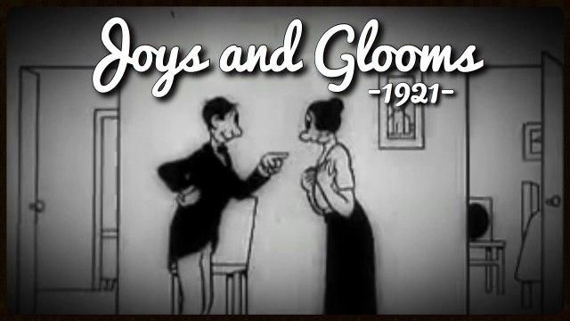 Joys and Glooms (1921) Vintage Silent Cartoon