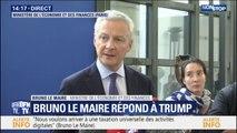"""La taxe GAFA ne cible pas """"spécifiquement des entreprises américaines"""", annonce Bruno Le Maire"""