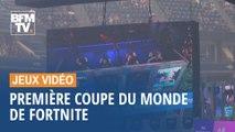 La première coupe du monde de Fortnite, le jeu vidéo aux 250 millions de joueurs, a lieu à New York ce week-end