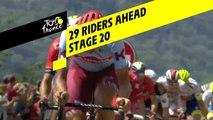 29 coureurs dans l'échappée / 29 riders ahead - Étape 20 / Stage 20 - Tour de France 2019
