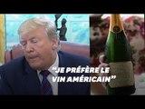 Donald Trump s'attaque au vin français, mais les avis sur son vin ne sont pas reluisants