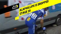 Alaphilippe is dropped / Alaphilippe est lâché - Étape 20 / Stage 20 - Tour de France 2019