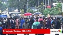Conakry: Sit-in devant l'ambassade de France pour demander justice pour Mamoudou Barry comme si vous y étiez !