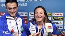 """Mondiaux de natation : """"Je suis très fière qu'on finisse sur cette médaille"""" confie Bonnet"""