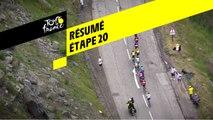 Résumé - Étape 20 - Tour de France 2019