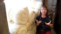 Rencontre avec Brigitte Mathieu présidente de l'association Objectif Laine à Génolhac