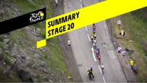 Summary - Stage 20 - Tour de France 2019