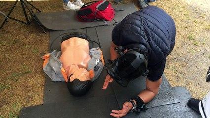 Des exercices de premiers secours avec la réalité virtuelle