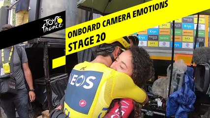 Onboard camera Emotions - Étape 20 / Stage 20 - Tour de France 2019