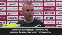 (Subtitled) Iniesta hails Vermaelen signing for Vissel Kobe