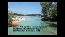 Qualité des eaux de baignade : en Isère, l'ARS fait la chasse aux bactéries