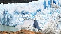 Des couvertures pour empêcher la fonte d'un glacier