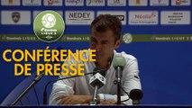 Conférence de presse FC Sochaux-Montbéliard - SM Caen (0-0) : Omar DAF (FCSM) - Rui ALMEIDA (SMC) - 2019/2020