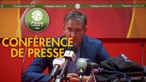 Conférence de presse Le Mans FC - RC Lens (1-2) : Richard DEZIRE (LEMANS) - Philippe  MONTANIER (RCL) - 2019/2020