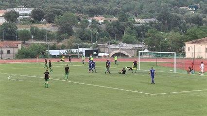 Corte 0-4 Bastia : Les buts