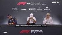 F1 2019 German GP - Post-Qualifying Press Conference