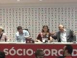 Flamengo - Fou rire général lors de la présentation de Filipe Luis