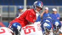 Giants Lose Three Top Wide Receivers in Opening Days of Camp