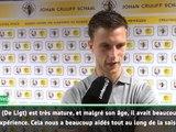 """Ajax - Veltman : """"De Ligt nous a beaucoup aidés"""""""