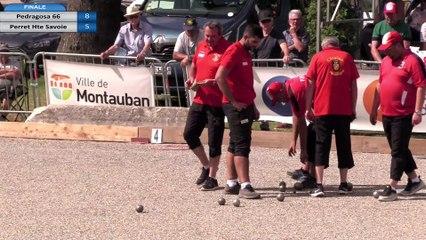 Finale Championnat de France Triplette Jeu Provençal 2019