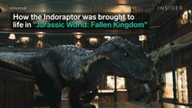How the Indoraptor was brought to life in 'Jurassic World: Fallen Kingdom'