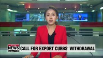 Japanese intellectuals call for withdrawal of export curbs