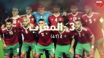 ترتيب الفيفا للمنتخبات العربية