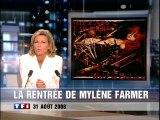 TF1 - 31 Août 2008 - JT 20H (Claire Chazal), bande annonce