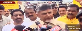 Chandrababu Reacts Over Banning Three TV Channels |