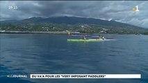 """Du va'a pour les """"very importante paddlers"""""""