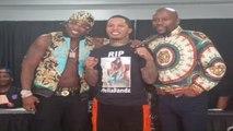 Gervonta Davis vs Ricardo Nunez FULL POST FIGHT PRESS CONFERENCE - PBC Boxing