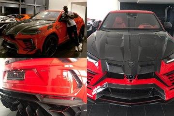 La Lamborghini Urus x Mansory d'Antonio Rüdiger (Chelsea)