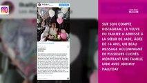 Laeticia Hallyday : son beau message pour l'anniversaire de sa fille Joy