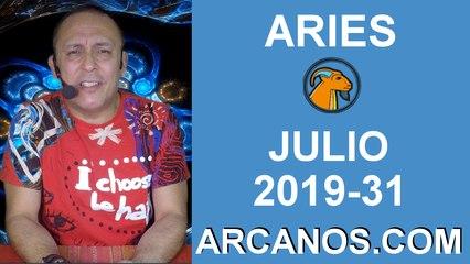 HOROSCOPO ARIES - Semana 2019-31 Del 28 de julio al 3 de agosto de 2019 - ARCANOS.COM