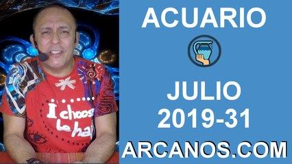 HOROSCOPO ACUARIO - Semana 2019-31 Del 28 de julio al 3 de agosto de 2019 - ARCANOS.COM