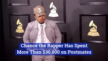 Chance The Rapper Spends Thousands On Postmates