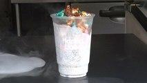 Pop-Corn nippon à l'azote liquide