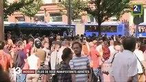 Moscou : plus de 1 000 manifestants arrêtés par la police, l'UE condamne un recours disproportionné à la force