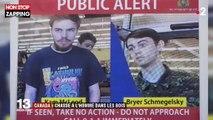 Canada : Une chasse à l'homme lancée contre deux suspects de meurtres (Vidéo)