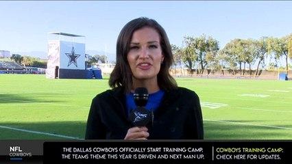 DAY 2:  Dallas Cowboys Training Camp