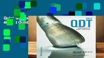 Quintessence of Dental Technology 2017: 40 (Qdt Quintessence of Dental Technology)