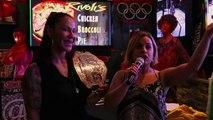 WWE Legend Mick Foley predicts Cris Cyborg beats Amanda Nunes UFC 232 at Rivolis Grill and Chill NJ