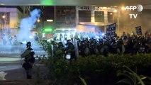 Erneute Zusammenstöße zwischen Polizei und Demonstranten in Hongkong