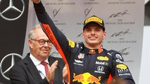 Verstappen remporte un Grand Prix d'Allemagne troublé par la pluie