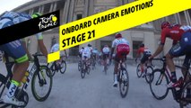 Onboard camera Emotions - Étape 21 / Stage 21 - Tour de France 2019