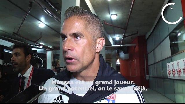 OL : Sylvinho sous le charme de Moussa Dembélé